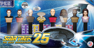 Walmart Exclusive Star Trek TNG Pez Set (mockup?)