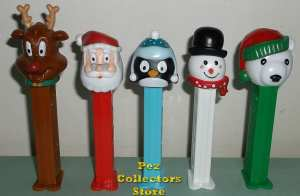 2013 Christmas Pez Assortment in Tubes