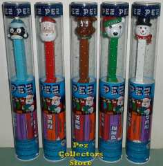2013 Crystal Snowman Pez - Walmart Exclusive