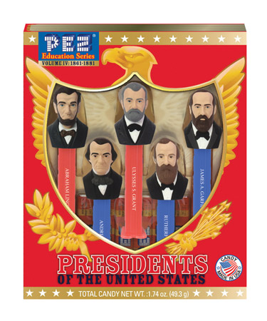 US Presidents Volume 6 Pez