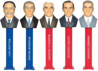 Presidents Pez Volume 6 Boxed Set
