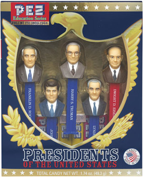 Presidents Pez Volume 7 Loose