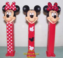 Minnie Bowtique Pez Set