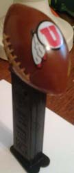 University of Utah Utes Pez Football Mint on Card