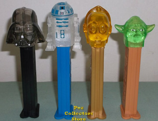 Crystal Star Wars Pez Loose