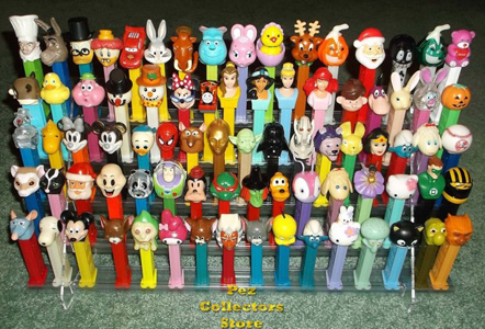 Pez Collectors Store full Grandstand Display