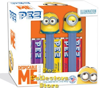 Despicable Me Minion Pez Twin Pack