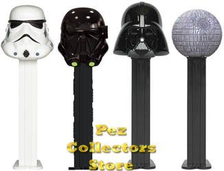 Rogue One Pez Dispensers with Death Trooper