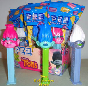 Dreamworks Trolls Pez Assortment