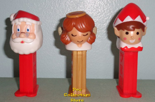 Mini Christmas Pez Loose