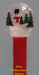 Snow Globe Pez Loose