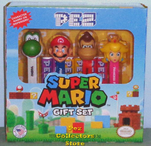 Super Mario Pez Gift Set