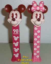 Mickey and Minnie 90 Years of Magic Pez Loose