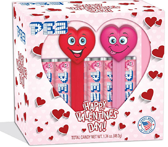 2019 Valentine's Day Pez Twin Pack