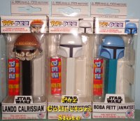 Star Wars Lando and Boba Fett POP! PEZ Bundle