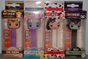 Disney Villains POP! PEZ Bundle