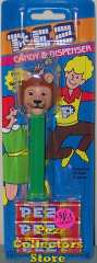 Misfit Lion Pez on Green Stem