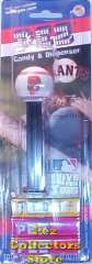 San Francisco Giants SF Logo MLB Pez Mint on Card