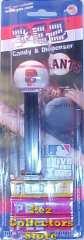 San Francisco Giants SF Logo MLB Pez Mint on Card
