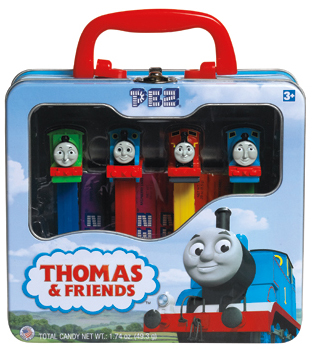 Thomas and Friends Pez Gift Tin