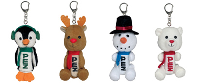 Winter Plush Pez Dispensers