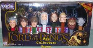 The Lord of the Rings Pez set Mint in Box