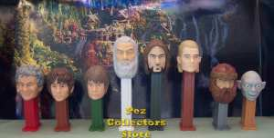 The Lord of the Rings Pez loose