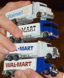 Walmart Pez Trucks