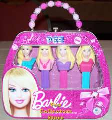 Barbie Pez Gift Tin Purse
