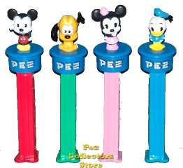 Disney Cuties Pez Click and Play Interactive Dispensers
