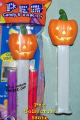 2012 Flat Top Halloween Pumpkin Pez