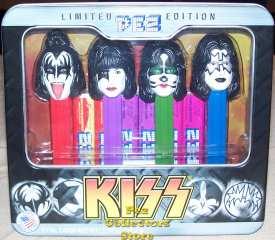 KISS Pez Gift Tin