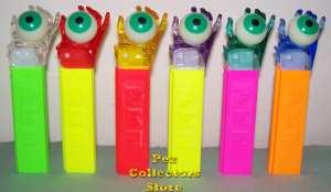 Crystal Psychedelic Eye Pez Set