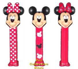 Stylish Mickey and Minnie Pez from Europe