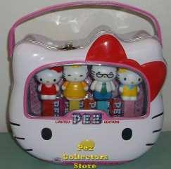 40th Anniversary Hello Kitty, Mimi, Papa George and Mama Mary Pez Loose