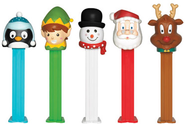 2014 Christmas Pez in Counter Display Box