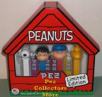 2015 Peanuts Pez Boxed gift set