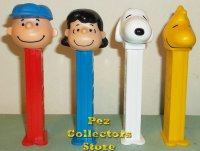 65th Anniversary Peanuts Pez Loose
