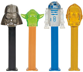 Crystal Star Wars Pez
