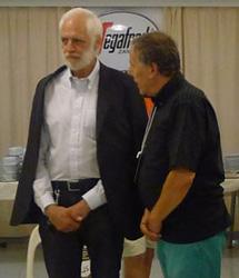 Ed. Haas and Willi Schodritz