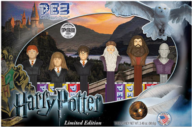 Harry Potter Pez Collector's Set
