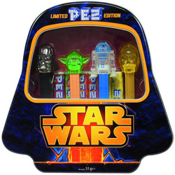 Star Wars pez Gift Tin