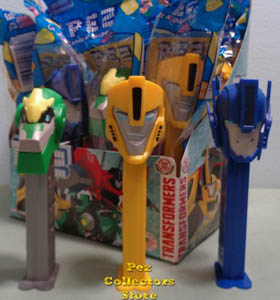 Transformers Robots In Disguise Pez Mint in Bag
