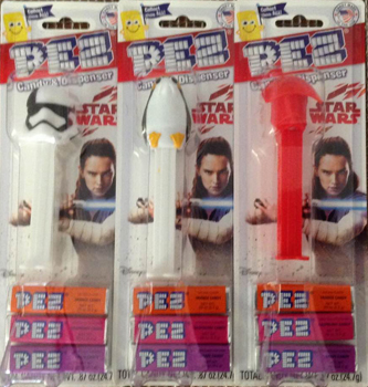 Stormtrooper Executioner, Porg and Praetorian Guard Star Wars Pez