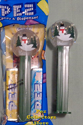 Snow Globe with Green Stem Pez