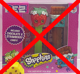 Shopkins Pez Twin Pack - Canceled
