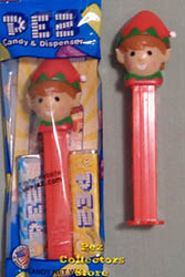 Red Elf Pez with GreenTrim